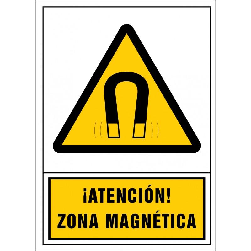 2095S-Señal de ¡Atención! Zona magnética - Referencia 2095