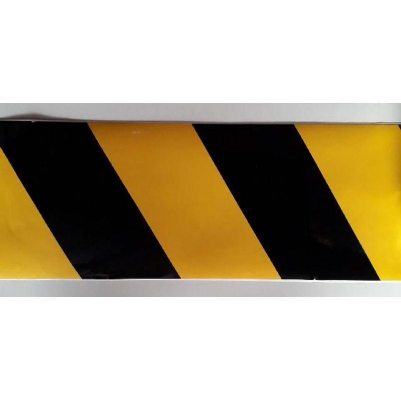 0TRP-Cinta abalisament negre / groc 990x100 mm