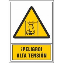 Perill! Alta tensió