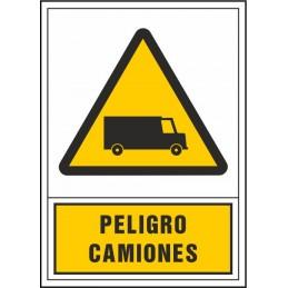 SYSSA,Señal Peligro camiones