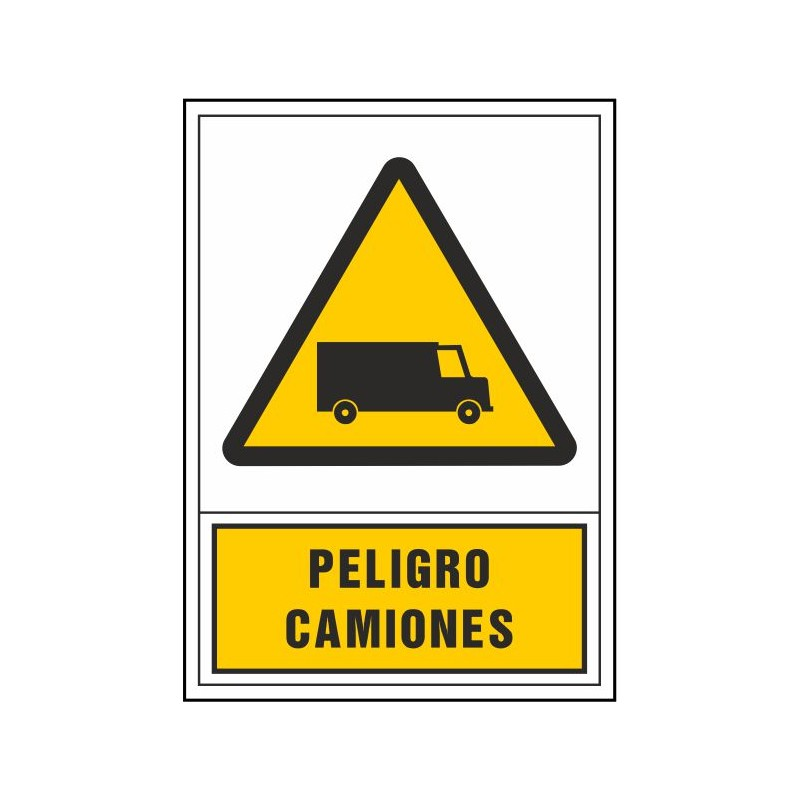 2102S-Peligro camiones