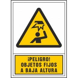 SYSSA,Señal Peligro objetos fijos a baja altura