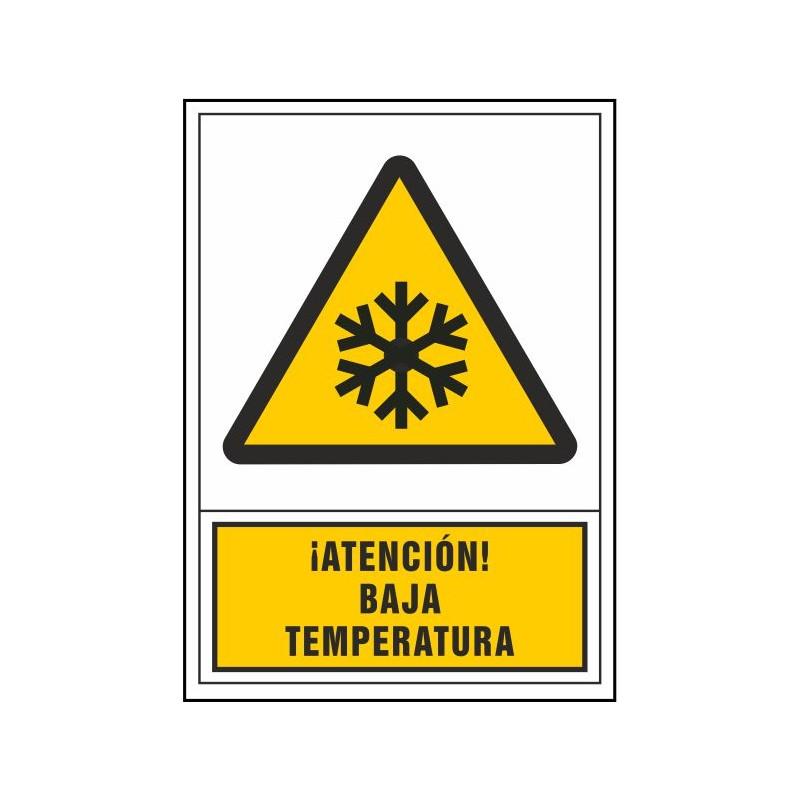2080S-Señal de ¡Atención! Baja temperatura - Referencia 2080