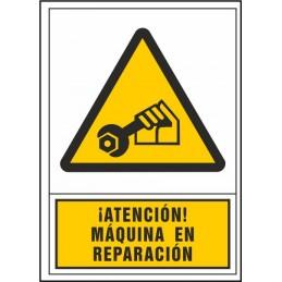 SYSSA,Señal ¡Atención! Máquina en reparación