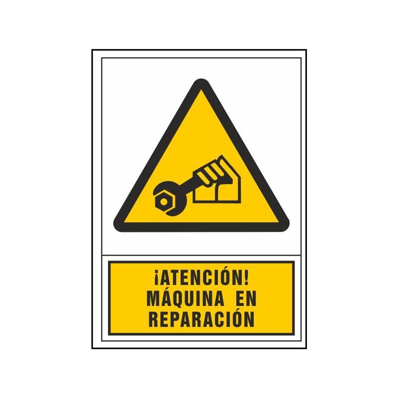 2108S-¡Atención! Máquina en reparación