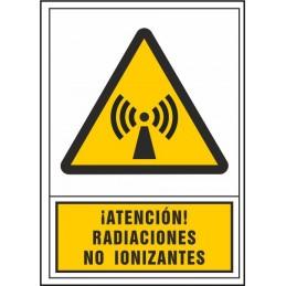 SYSSA,Señal Atención radiaciones no ionizantes