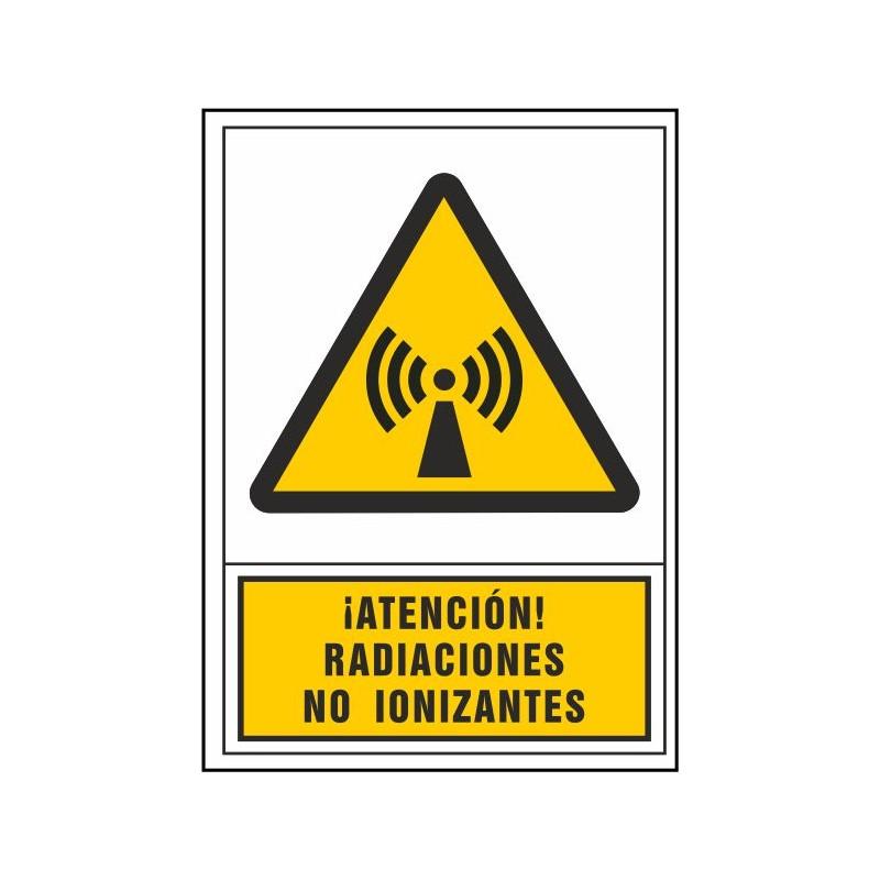 2117S-Señal de Atención radiaciones no ionizantes - Referencia 2117