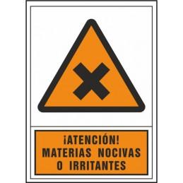 Atenció matèries nocives o...