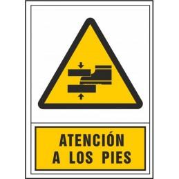SYSSA,Señal Atención a los pies