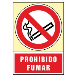 SYSSA, Senyal  Prohibit fumar