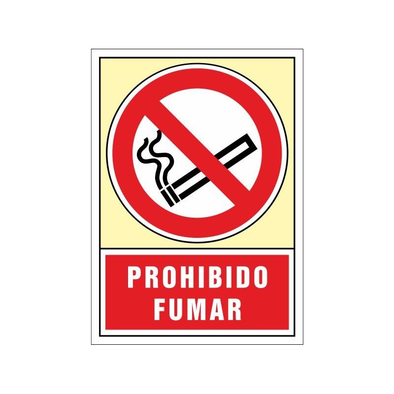 3001S-Prohibido fumar 3001S
