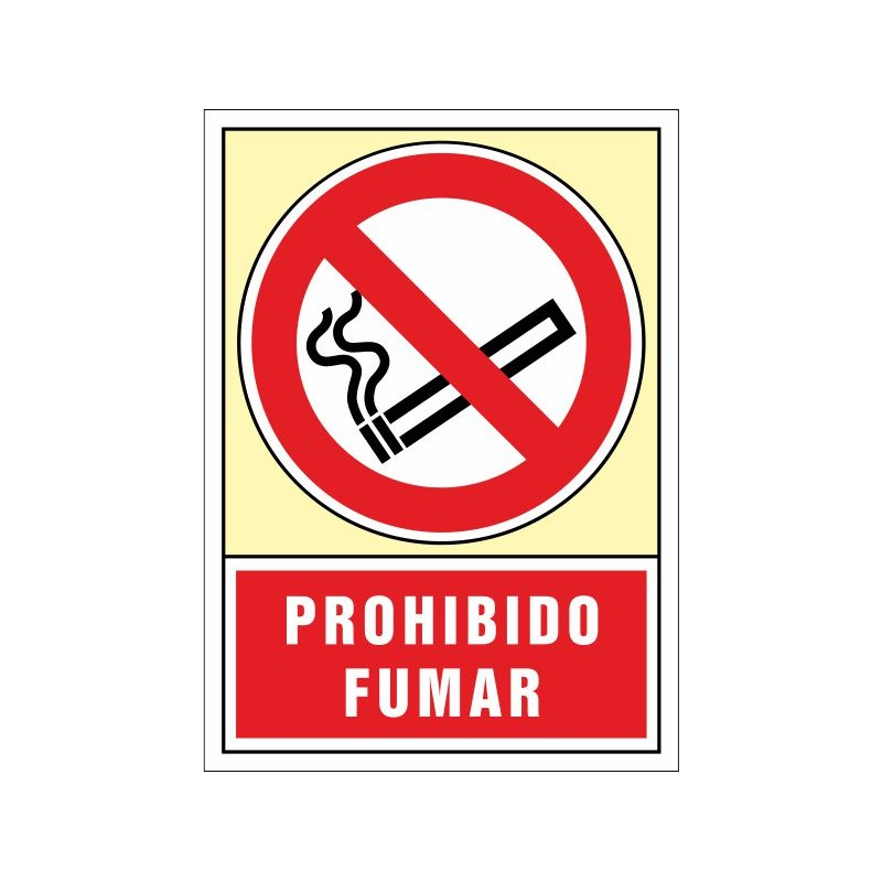 3001S-Señal Prohibido fumar - Referencia 3001S