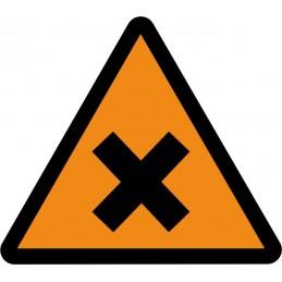 SYSSA,Señal Atención materias nocivas o irritantes