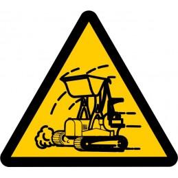 SYSSA,Señal ¡Atención! Maquinaria pesada