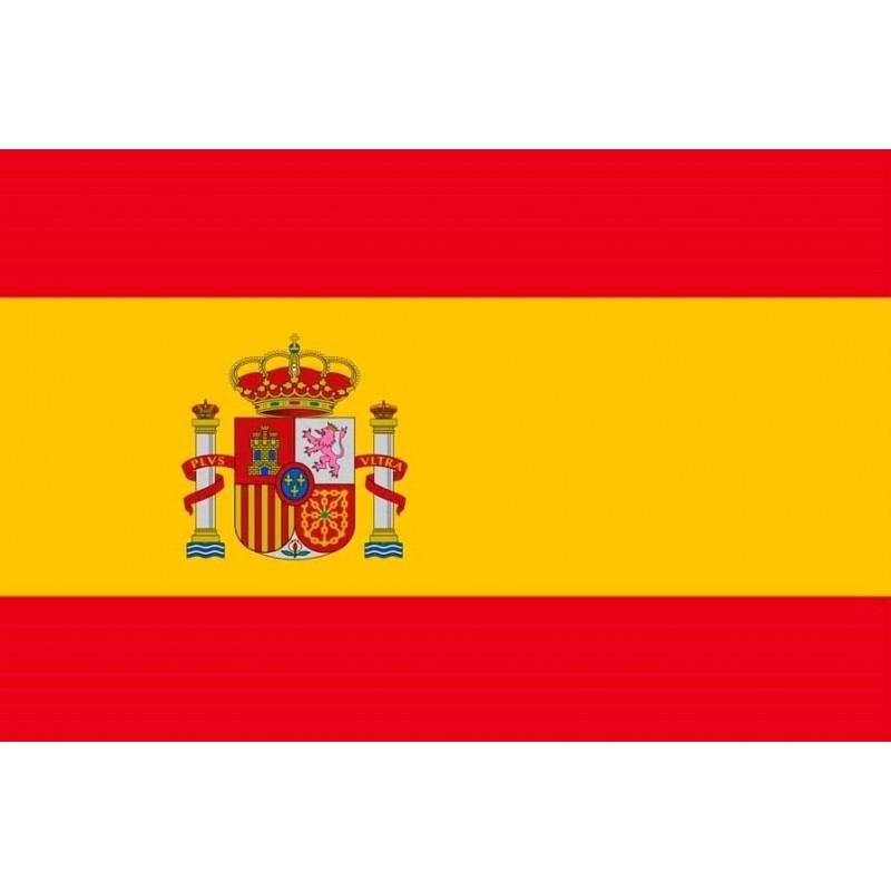 SYSAESPCE-Bandera de España con escudo constitucional