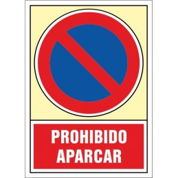 Senyal Prohibit aparcar -...