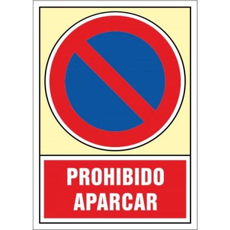 Prohibit aparcar