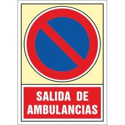 SYSSA - Tienda Online, Señal Salida de ambulancias