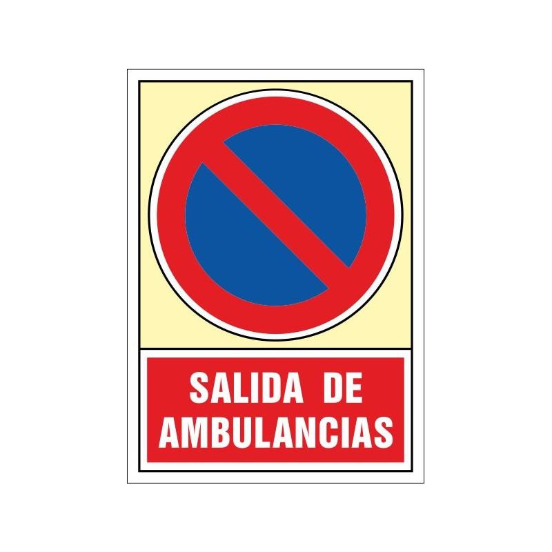 121S-Señal Salida de ambulancias - Referencia 121S