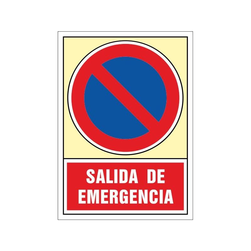 122S-Senyal Sortida d'emergència - Referència 122S