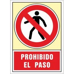 SYSSA, Senyal  Prohibit el pas