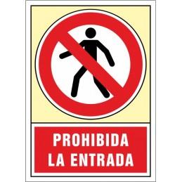 SYSSA, Senyal  Prohibida l'entrada