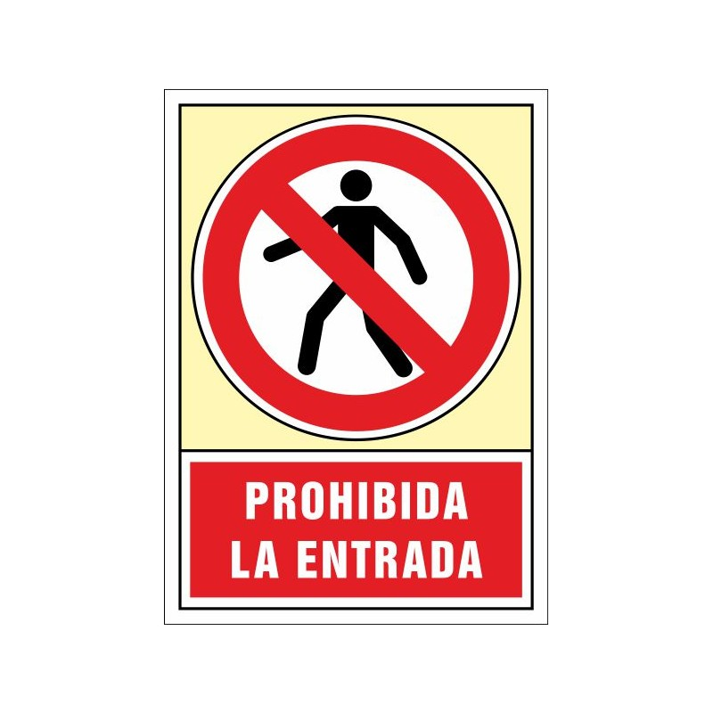 3031S-Senyal Prohibida l'entrada - Referència 3031