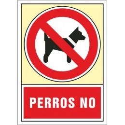 """SYSSA,Señal Perros """"no"""""""