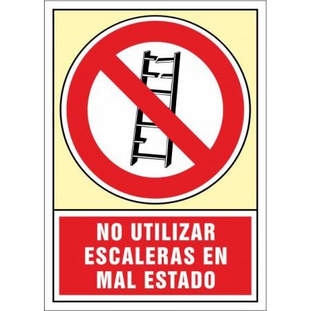 No utilitzar. Escales en mal estat