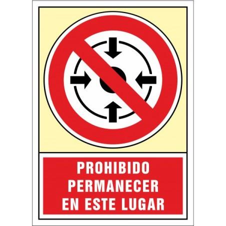 Prohibit romandre en aquest lloc