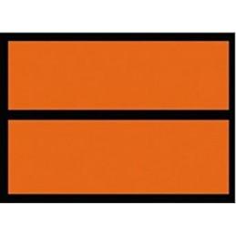 Panel naranja mercancías peligrosas