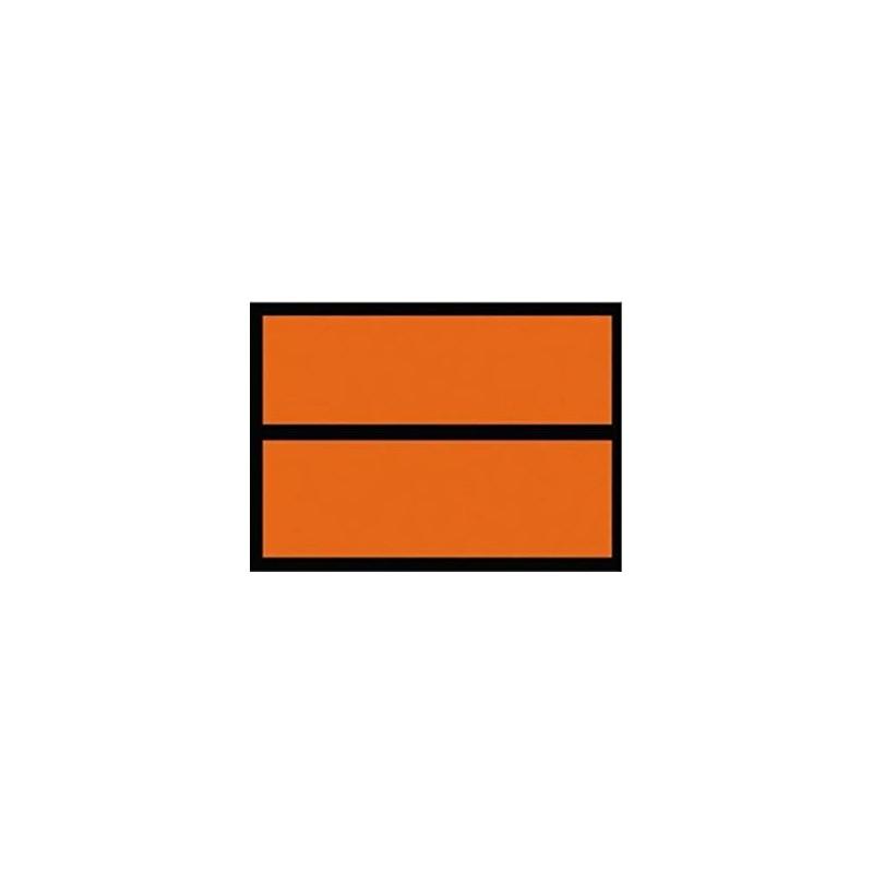 497140R-Panell taronja transport. Mercaderia perillosa