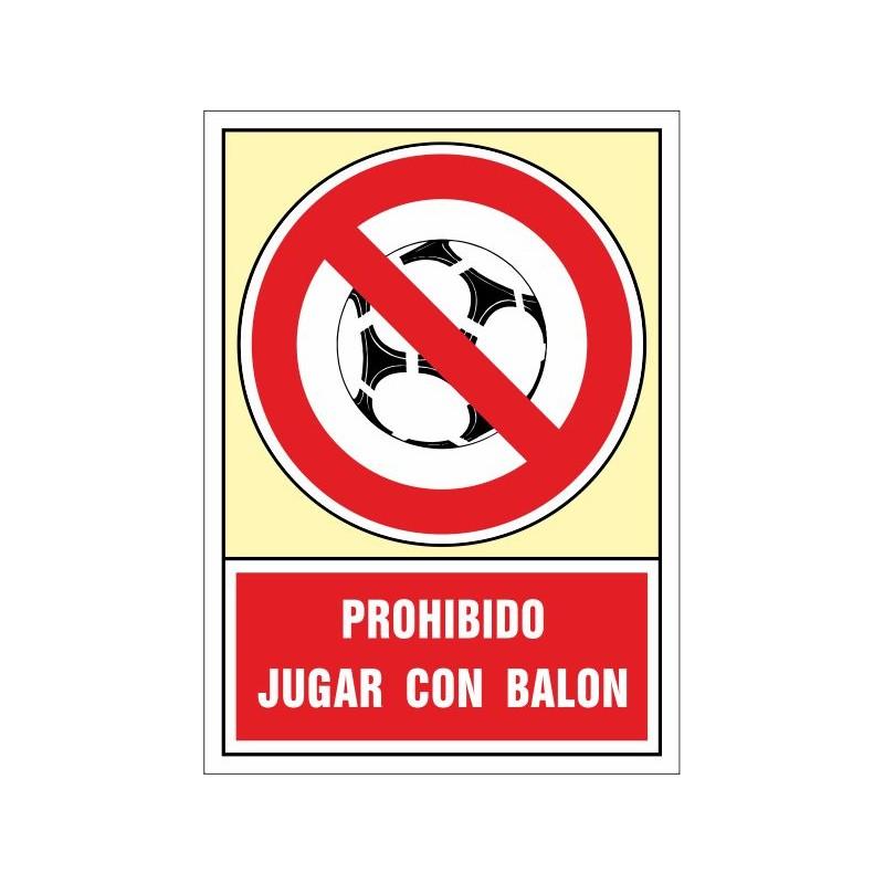 3056S-Prohibit jugar a pilota