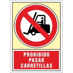 SYSSA, Senyal  Prohibit passar carretons