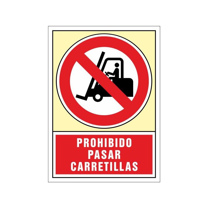 3062S-Senyal Prohibit passar carretons - Referència 3062S
