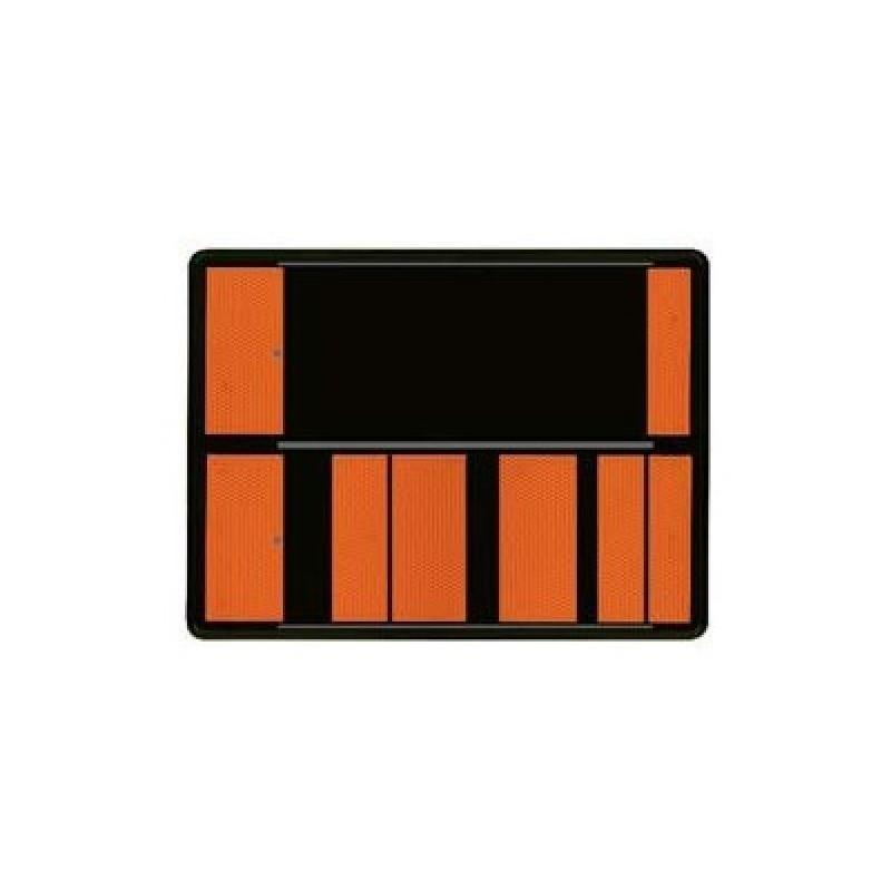 SYS002159-Panel naranja transporte mercancías peligrosas de números intercambiables