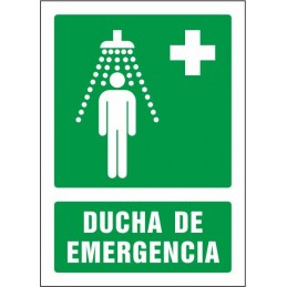 Señal Ducha de emergencia -...