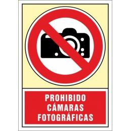 SYSSA, Senyal  Prohibit càmeres fotogràfiques