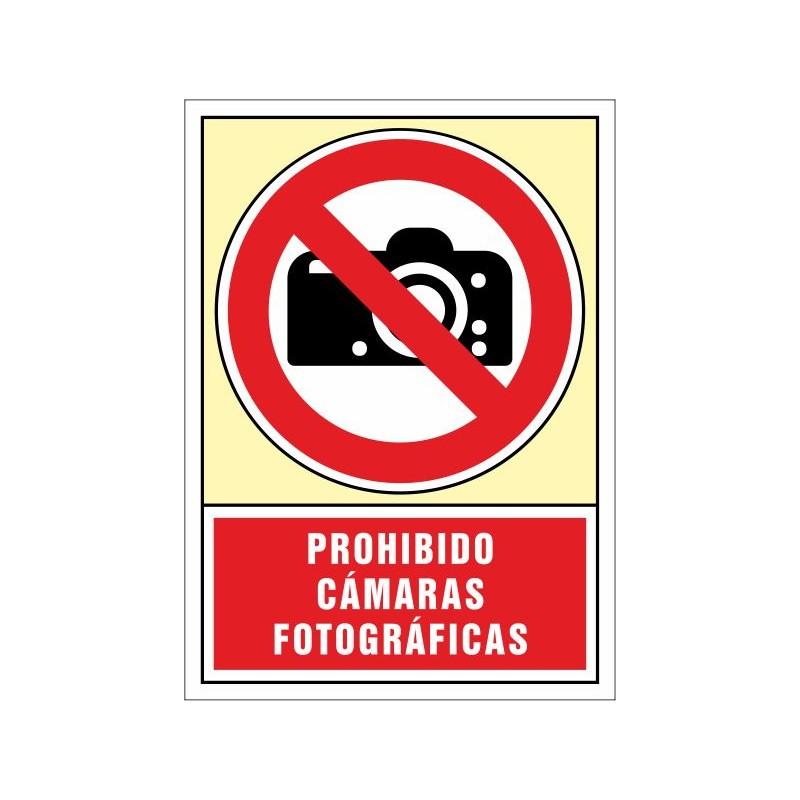3078S-Prohibido cámaras fotográficas