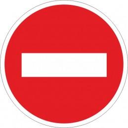 SYSSA,Señal Entrada prohibida