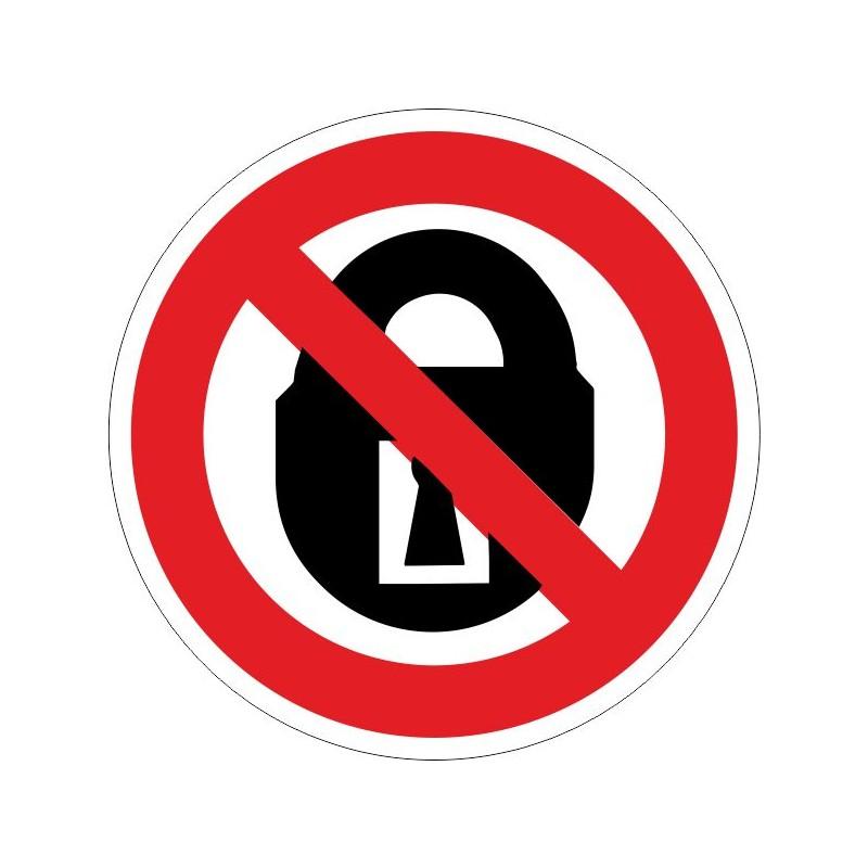 NCMC-Disco No cerrar mientras el local esta ocupado - Referencia NCMC