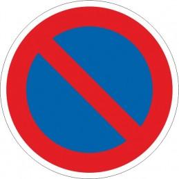 SYSSA,Señal Prohibido aparcar