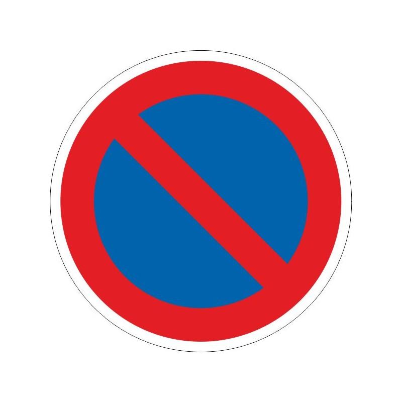 PAD-Disco Prohibido aparcar - Referencia PAD