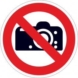 SYSSA,Señal Prohibido cámaras fotografías