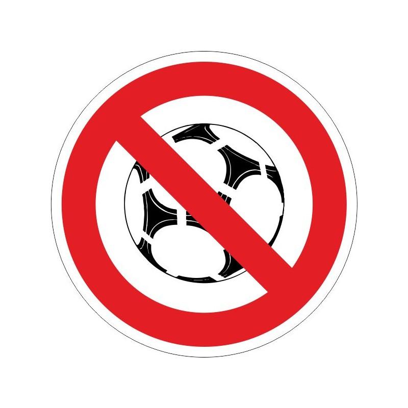 PJB-Disco Prohibido jugar con balón - Referencia PJB
