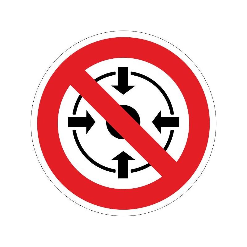 PPEL-Disco de Prohibido permanecer en este lugar - Referencia PPEL