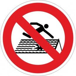 SYSSA, Senyal  Prohibit trepitjar. Terra fràgil
