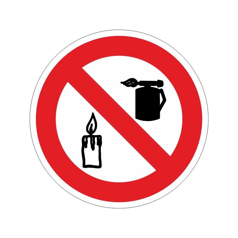 PSLL-Disco de Prohibido usar sopletes o introducir llama - Referencia PSLL