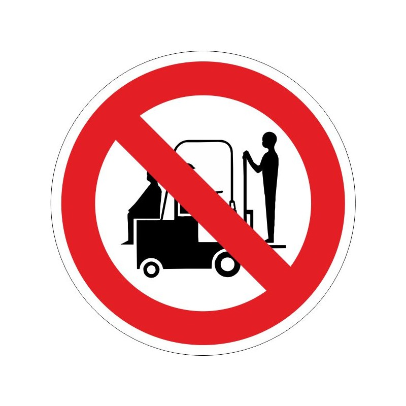 PTP-Prohibido transportar personas