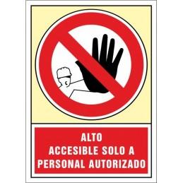 SYSSA, Senyal  Alto accessible només a personal autoritzat